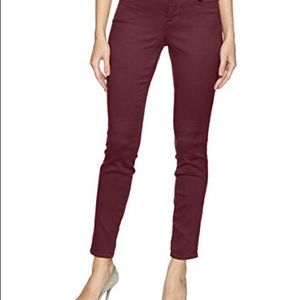 NYDJ Ami Skinny Leggings Deep Currant
